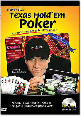 Step By Step Texas Hold Em Poker DVD