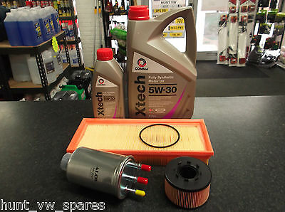 Ford Mondeo Mk3 2.0 / 2.2 Tdci Service Kit Oil Fuel Air Filters & 6 Litres Comma