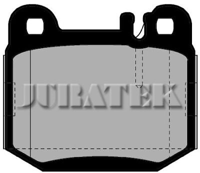Juratek Quality Brake Pads Front Jcp1512