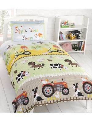 Apple Tree Farm Single Duvet Cover Bedding Set - Free Delivery