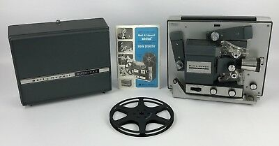 Bell & Howell Autoload 359A Super 8 Movie Projector - Made in USA