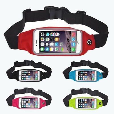 Sports Running Jogging Gym Waist Belt Bag Case Cover Holder for iphone 6 H5H7
