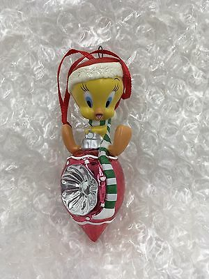 2002 Looney Tunes Hallmark Keepsake Christmas Habitat Tweety Bird Ornament
