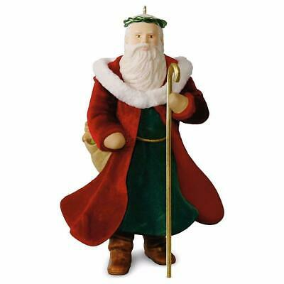 2016 Hallmark FATHER CHRISTMAS santa MINI Miniature ORNAMENT