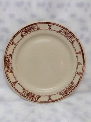 """Vintage Carr China Creamer Erwin Pattern 7"""" Plate"""
