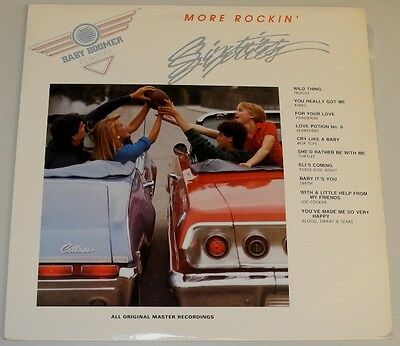 Lp Ca**various - More Rockin' Sixties (Polydor '87)**9455
