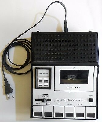 Vintage Grundig C 350 Automatic Registratore Audio/video Riproduttore 1977-79