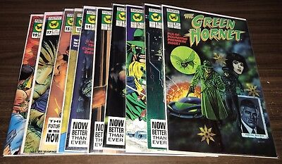 GREEN HORNET (Now) -- Vol 1 -- #1 to 14 -- Vol 2 -- #1 to 40 -- BOTH FULL SERIES