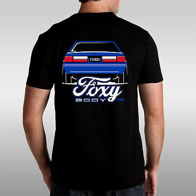 Foxy Body Ford Mustang Fox Body T Shirt