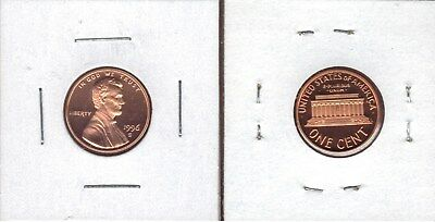 1996-S Choice Proof Lincoln Cent