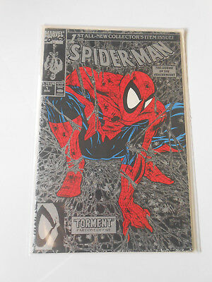Spider-Man #1 Torment Silver Cover Todd McFarlane