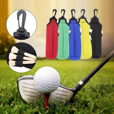 LQS Golf Ball Tees Pouch Holder Utility Sports Golfing Accessories Utility Bag