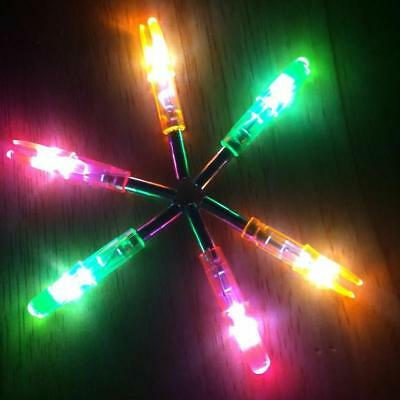 NEW Hunting Shooting Archery Led Lighted Nock Compound Bow Arrow Nocks Tails