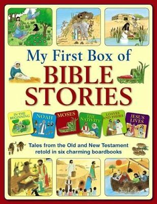 My First Box of Bible Stories New Mixed media product Book