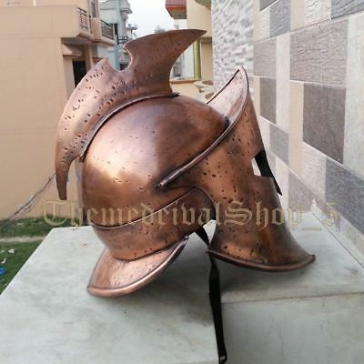 Antique 300 Medieval Spartan Rise of Empire 300 Helmet Vintage Style Wearable