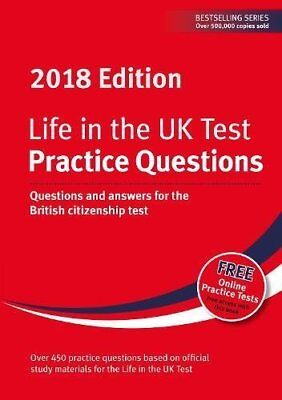 Life in the UK Test: Practice Questions 2018 New Paperback Book