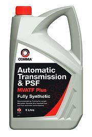 Comma Fully synthetic Automatic Transmission & Power Steering Fluid Oil -MVATF5L