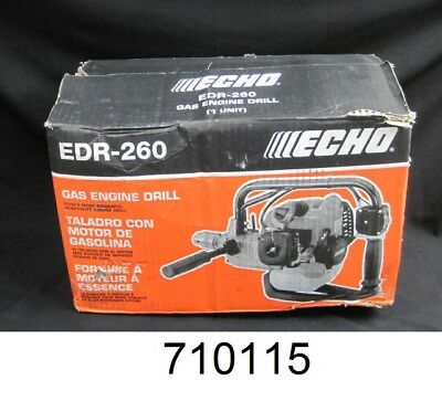 "Echo EDR260 25.4 CC, 1/2"" Chuck Engine Drill with Reverse and Pro-Fire Start"
