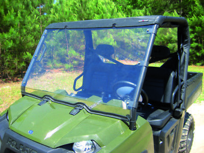 Front SEIZMIK Full Windshield for Ranger XP/HD/CREW 09-11  Part# 23049