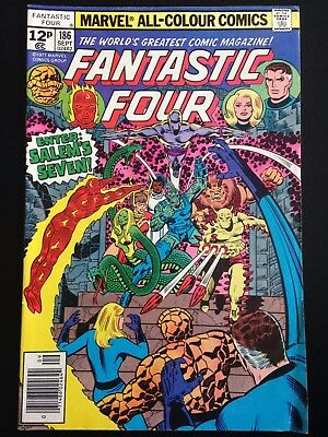 Fantastic Four #186 Marvel Bronze Age Comic VG/FN