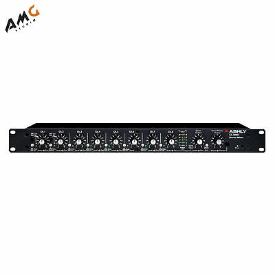 ASHLY LX-308B Rackmount 8 Channel Stereo Line Mixer