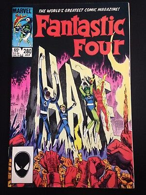 Fantastic Four #279 Marvel Bronze Age Comic FN/VF