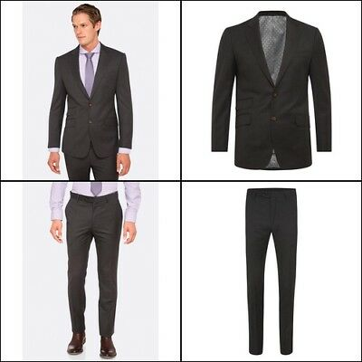 New Oxford MARLOWE WOOL SUIT JACKET GREY X WITH MATCHING TROUSERS