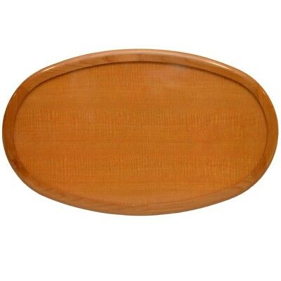 Larson Boat Wood Table Top 8322-2467 | Maple Oval 36 3/8 x 22 Inch