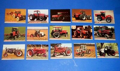 Lot of Ertl Harvest Heritage Trading Cards Case IH Farmall Tractors Implements