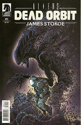 Aliens Dead Orbit #1. Dark Horse Apr 2017. 1st Print. James Stokoe. NM