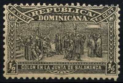 Dominican Republic 1900 SG#99, 1/2c Columbus Mausoleum Building Fund MH #D62878