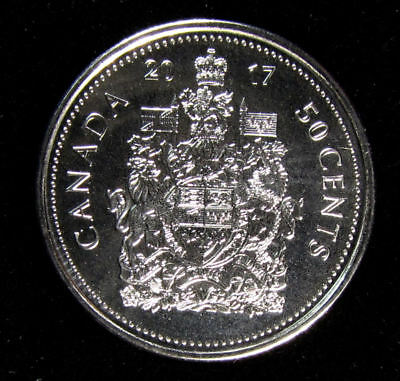 2017 Coat of Arms CANADA 50 CENTS  Half Dollar COIN Unc. from roll