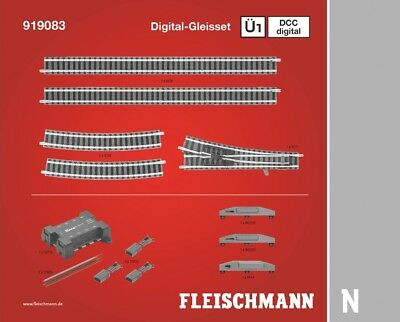 FLEISCHMANN - 919083 - Digital Track Pack set U1D - N Scale
