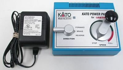 Kato - Ka22-017 - 014 Speed Controller With Au Power Supply For Ho And N Scale