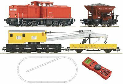 ROCO-41363-Digital Starter Set diesel locomotive Seriess 204 of the DB AG with b