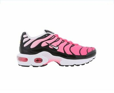 timeless design 30ee1 09b40 ORIGINAL WOMENS GIRLS Nike Air Max Tn Plus Tuned 1 Black Pink Trainers  718071003