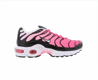 timeless design a5d94 717fe ORIGINAL WOMENS GIRLS Nike Air Max Tn Plus Tuned 1 Black Pink Trainers  718071003