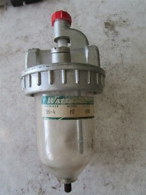 "Watts 606-4 M7 Pneumatic Lubricator 1/2"" NPT D-41"