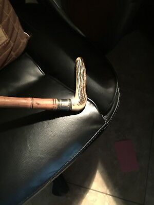 Antique, sterling silver cane walking stick.                    SALE!!!!