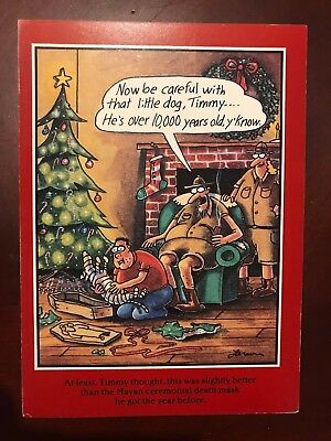 Gary larson christmas cards christmas cards the far side by gary larson christmas cards airplane hitting santa bookmarktalkfo Images