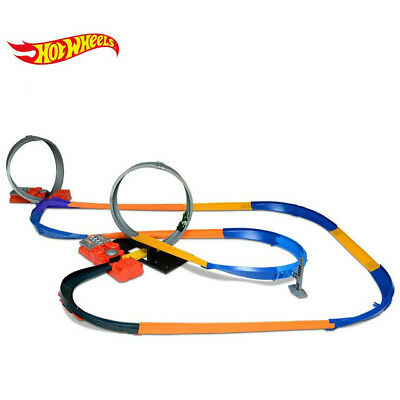 HOT WHEELS HW 10 in 1 Super Car Track Set with Two Boosters, Amazing! *XMAS DEL*