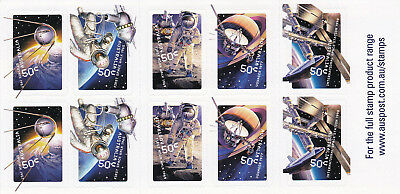 Australia 2007 mint unhinged Space booklet