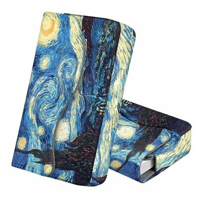 Business Card Holder Credit Card Wallet Organizer Magnetic Closure -Starry Night