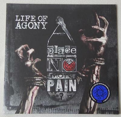 LIFE OF AGONY - A Place Where There's No More Pain - 1 LP Ltd. Ed. Blue Vinyl