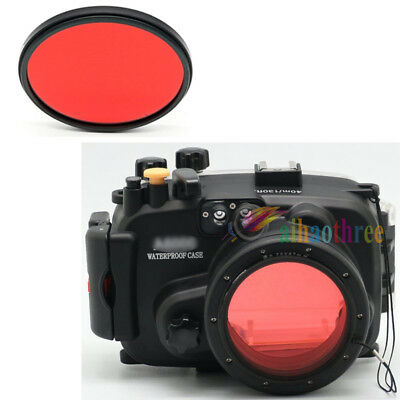 67mm Red Filter For Underwater Waterproof Diving Camera Housing Case Cover