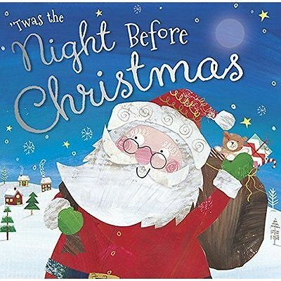 Twas the Night Before Christmas By Clement Moore NEW Children's (Paperback) Book