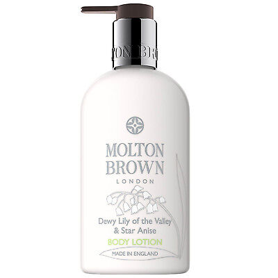 NEW Molton Brown Dewy Lily of the Valley & Star Anise Body Lotion 300ml