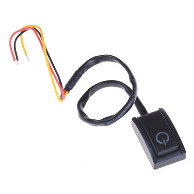 DC 12V/200mA Car DIY Push Button Latching Turn ON/OFF Switch LED Light