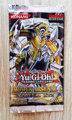 Yu-Gi-Oh! Booster Hidden Arsenal 6 1. Auflage deutsch Omega XYZ