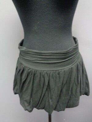 0c02f838ab JUICY COUTURE Black Viscose Blend Elastic Waist Pleated Mini Skirt Sz S  SMA10099